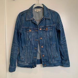 Madewell denim jacket size XS